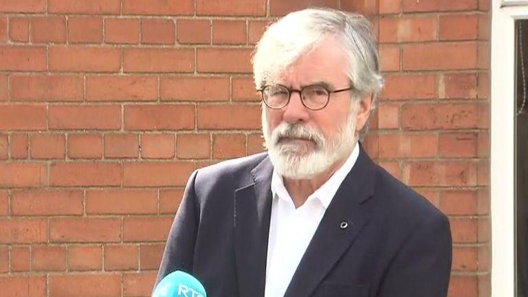Former Sinn Fein leader Gerry Adams has had his two prison escape convictions quashed