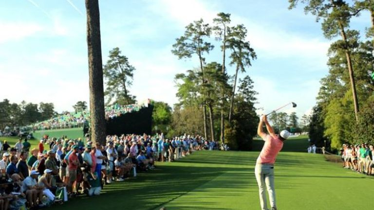 President Trump would love to see thousands of patrons lining the fairways at the Masters