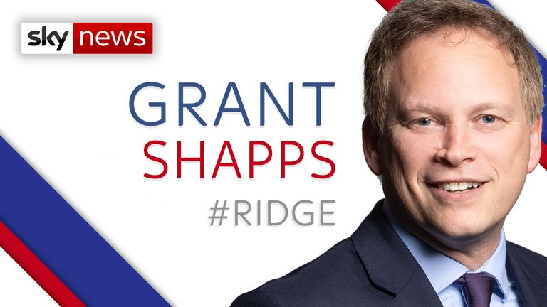 Transport Minister Grant Shapps