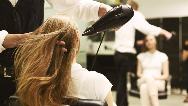 Freelancer hairdressers are still advertising mobile services on Gumtree, Facebook and Instagram