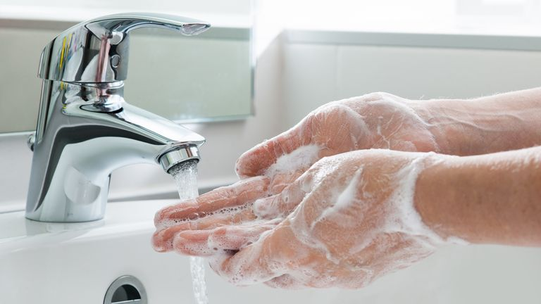 The government's advice is to wash your hands for at least 20 seconds