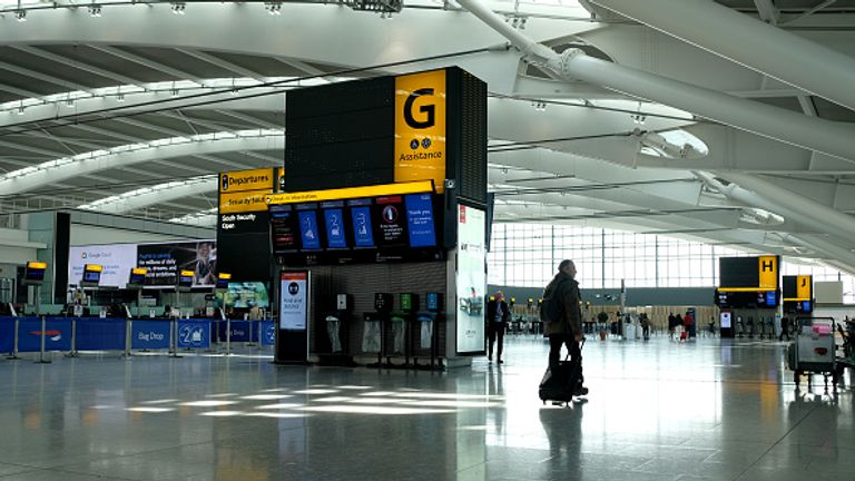 Heathrow will introduce a facial recognition system at Terminal 2 to monitor passengers' temperatures