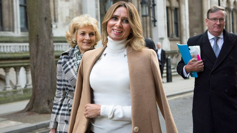 Tatiana Akhmedova, 52,  is still fighting for her £453 million divorce money