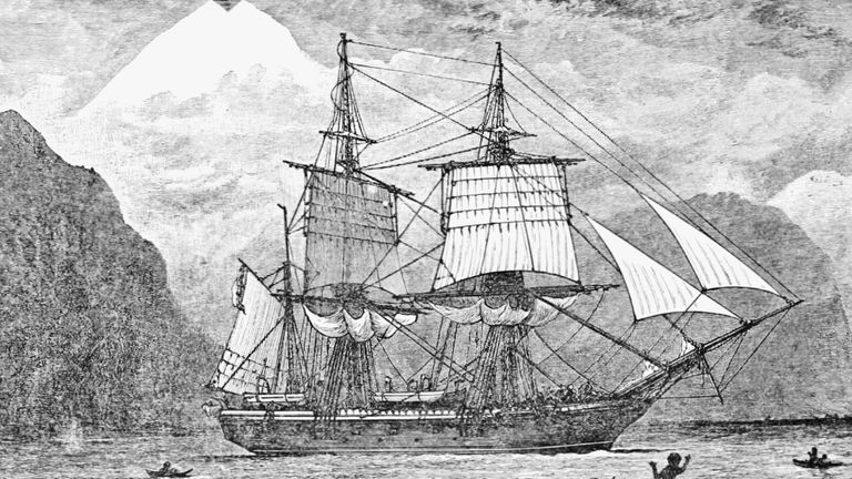 Charles Darwin sailed round the world on the HMS Beagle, researching geology, natural history and ethnology