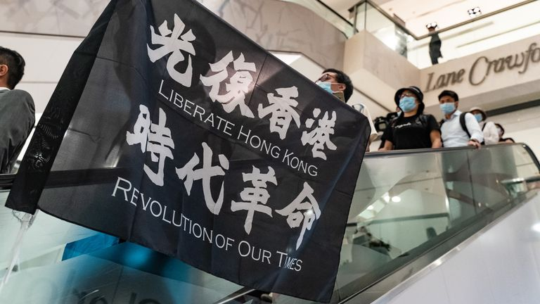 More protests are expected in Hong Kong on Wednesday