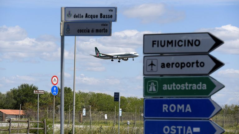 Italy will allow travel in and out of the country from 3 June