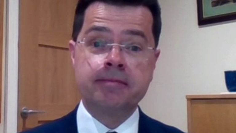 James Brokenshire is asked if he would take hydroxychloroquine