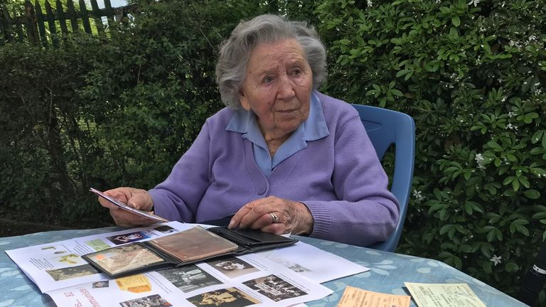 Jeanne Vanderschooten was part of the French Resistance
