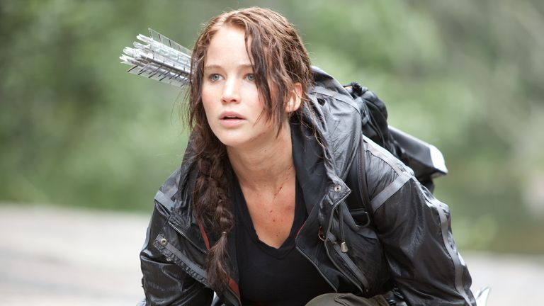 Jennifer Lawrence in The Hunger Games. Pic: Lionsgate