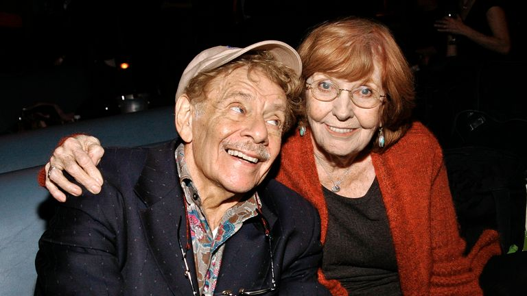 Jerry Stiller and Anne Meara in 2009