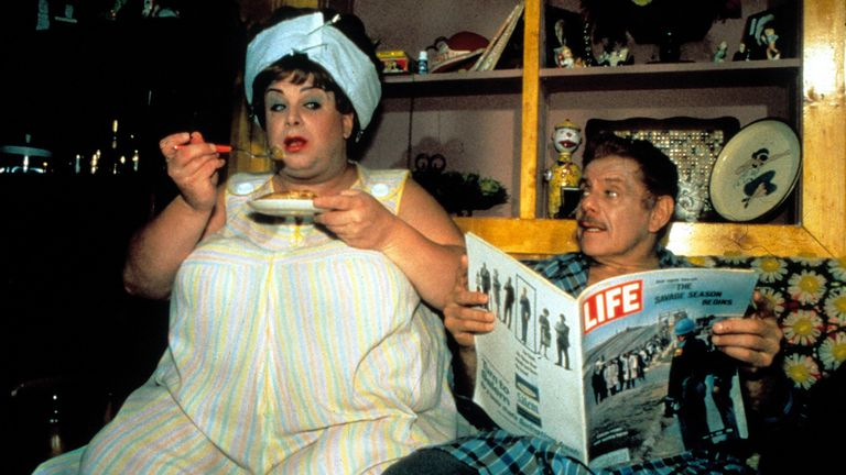 Mandatory Credit: Photo by Moviestore/Shutterstock (1571235a).Hairspray, Divine, Jerry Stiller.Film and Television