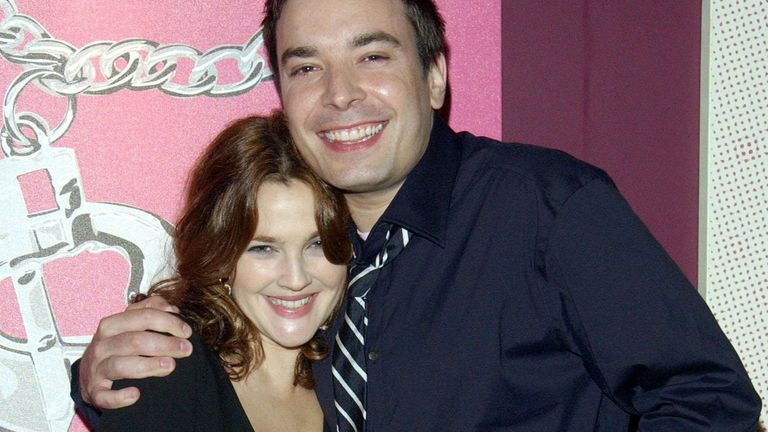 Jimmy Fallon starred alongside Drew Barrymore in comedy Fever Pitch in 2005