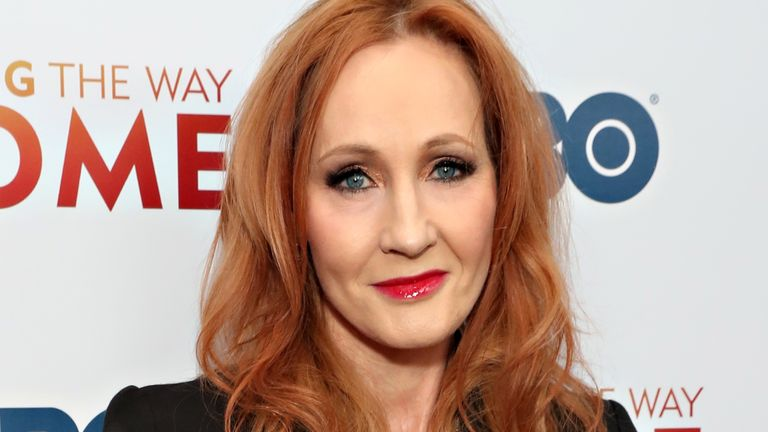 "JK Rowling attends HBO's ""Finding The Way Home"" World Premiere at Hudson Yards on December 11, 2019 in New York City"
