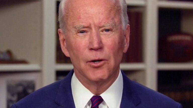 Joe Biden denies sex assault allegation