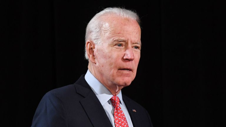 Joe Biden has publicly denied claims he sexually assaulted a former aide