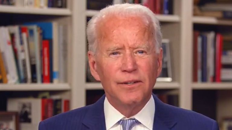 Joe Biden said there was no truth in the sexual assault claims by Tara Reade