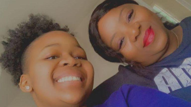 Josephine Matseke (Manini) with her daughter Buhle
