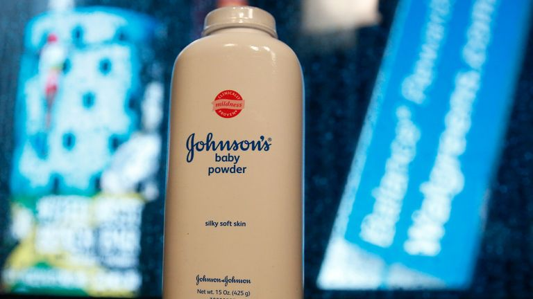 Johnson & Johnson is to stop selling its Baby Powder in the US and Canada