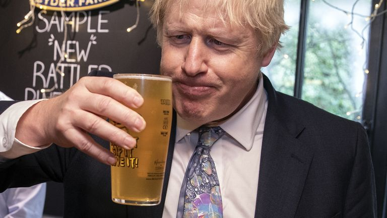 Boris Johnson had originally said pubs would not open before 3 July