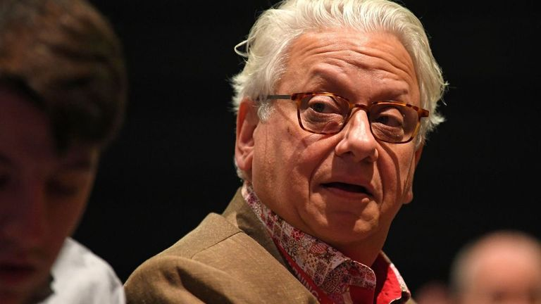 Founder of Labour's Momentum movement, Jon Lansman attends the Labour party conference in Brighton, on the south coast of England on September 23, 2019. - Britain's main opposition Labour Party began its annual conference on Sunday, desperately searching for a coherent Brexit plan to stem a potential drubbing in a looming election. (Photo by DANIEL LEAL-OLIVAS / AFP) (Photo credit should read DANIEL LEAL-OLIVAS/AFP via Getty Images)