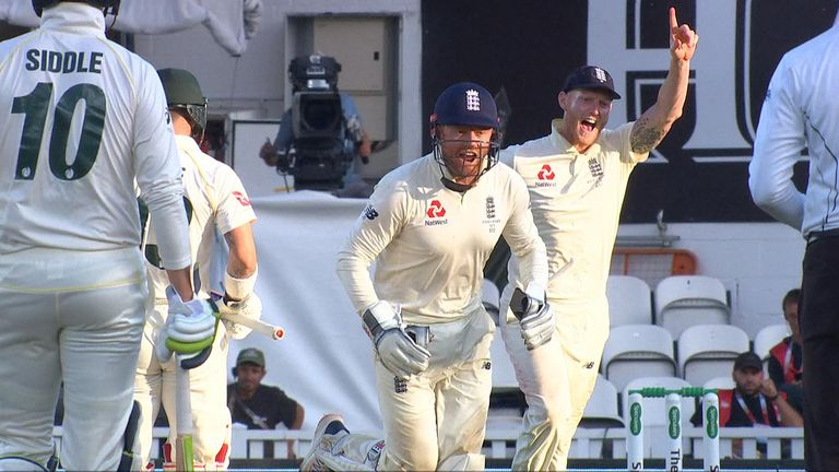 England wicket keeper Jonny Bairstow