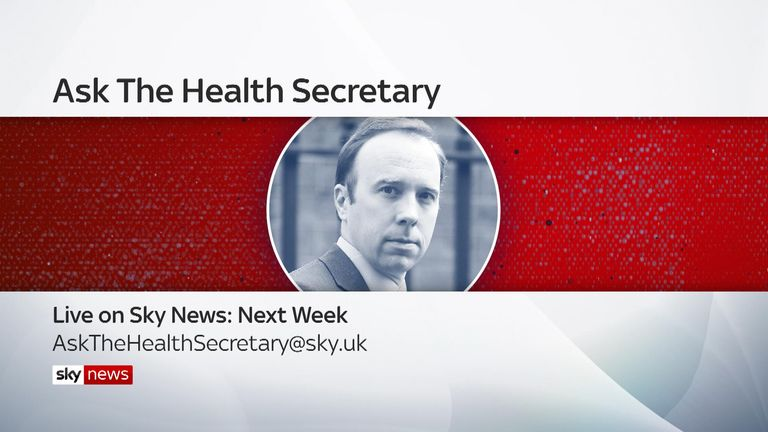 ASK THE HEALTH SECRETARY GFX