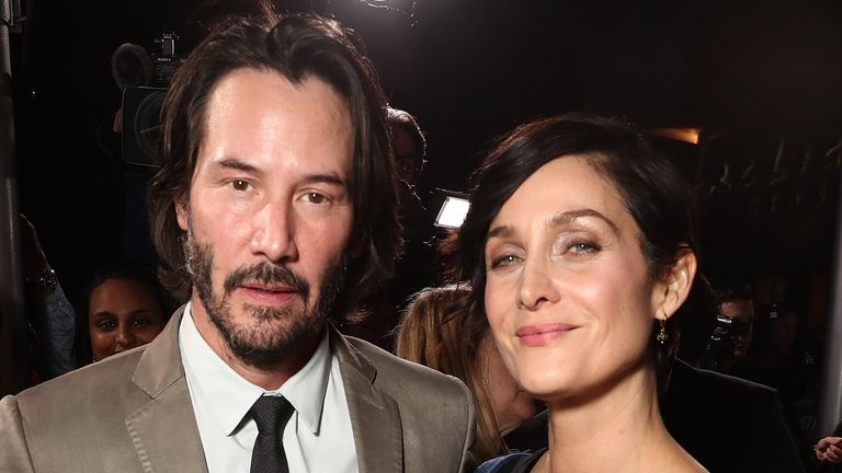 Keanu Reeves and Carrie-Anne Moss will both return for the fourth Matrix film