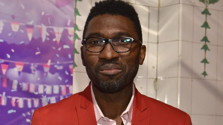 """Kwame Kwei-Armah attends the press night after party for """"Twelfth Night"""" at The Young Vic on October 8, 2018 in London, England."""