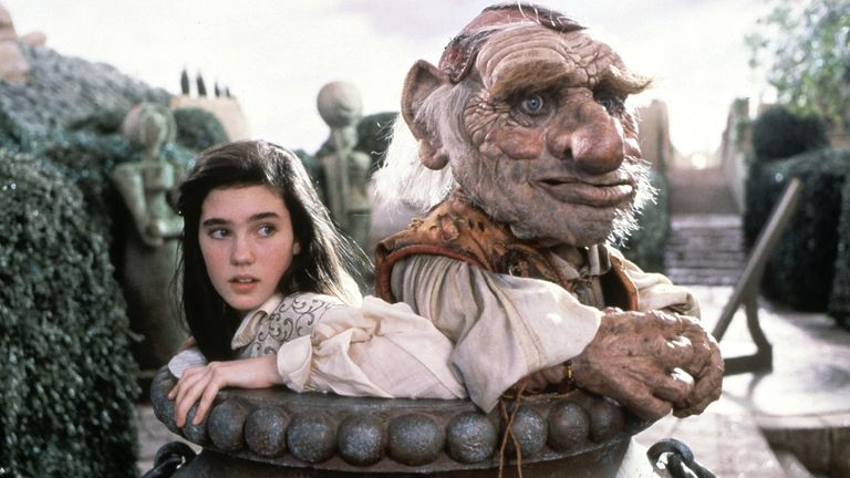 Jennifer Connelly and Mike Edmonds. Pic: Jim Henson Productions/Kobal/Shutterstock