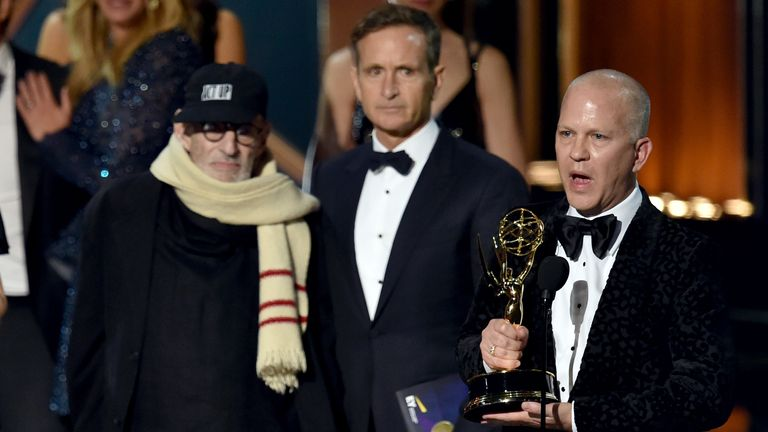 A TV adaptation of Kramer's play The Normal Heart won an Emmy for best movie