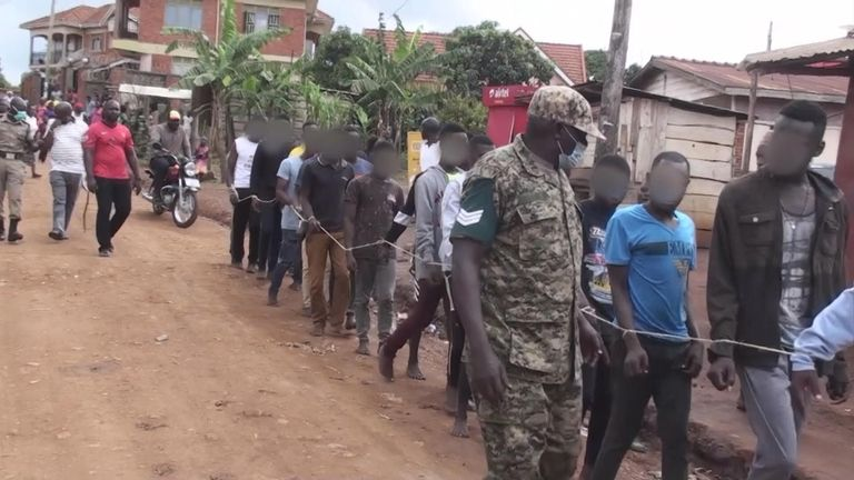 Over 20 members of the LGBT community in Uganda were arrested for gathering in public in violation of the coronavirus lockdown. Police arrested them at a shelter for sexual minorities. Sparks VT