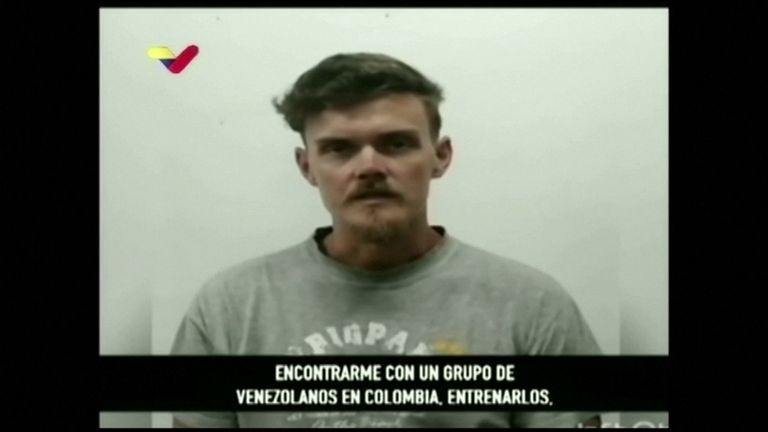 american captured over venezuelan coup