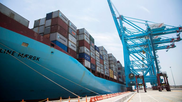 Maersk employs more than 75,000 people globally