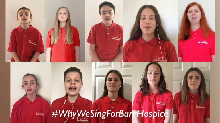 Encore Youth Choir release charity single