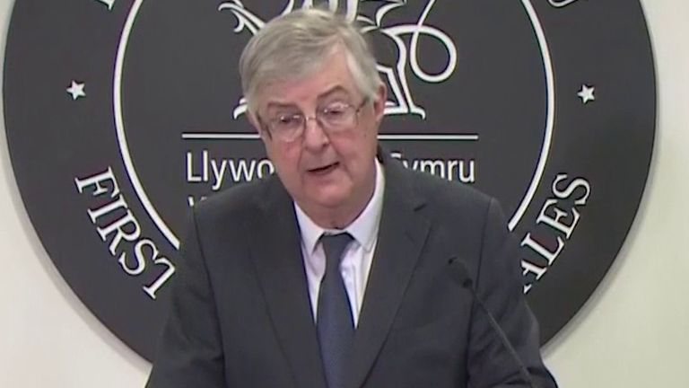 Mark Drakeford announces some tweaks to lockdown restrictions in Wales