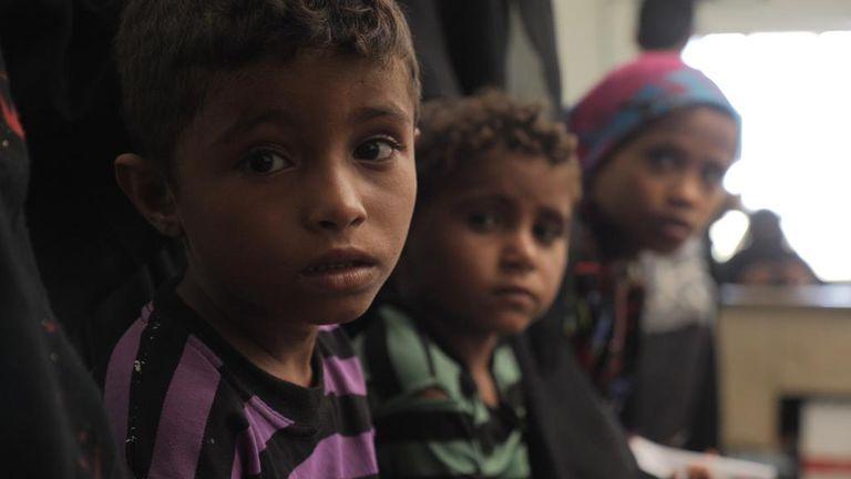 Yemen, generic picture of children