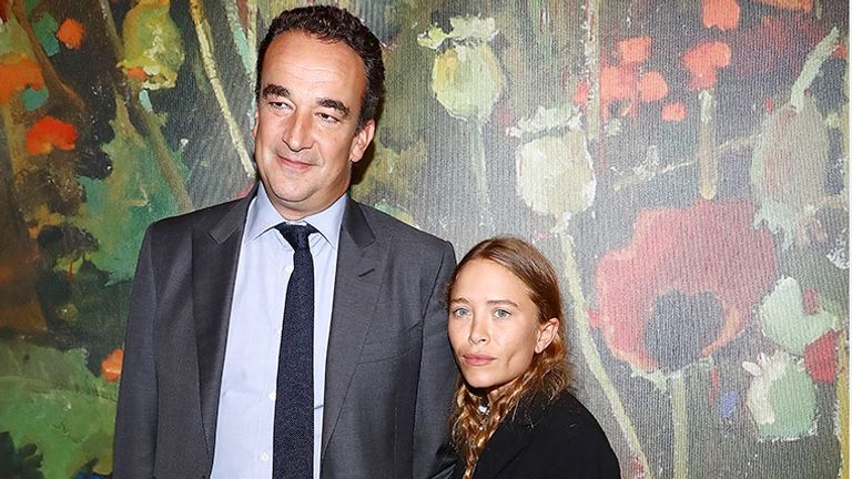 NEW YORK, NY - OCTOBER 11:  (L-R) Olivier Sarkozy and Mary-Kate Olsen attend 2017 Take Home A Nude Art party and auction at Sotheby's on October 11, 2017 in New York City.  (Photo by Astrid Stawiarz/Getty Images)