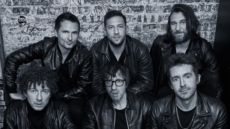 Muse frontman Matt Bellamy is also in 'supergroup' The Jaded Hearts Club. Pic: Wilko Wilkinson
