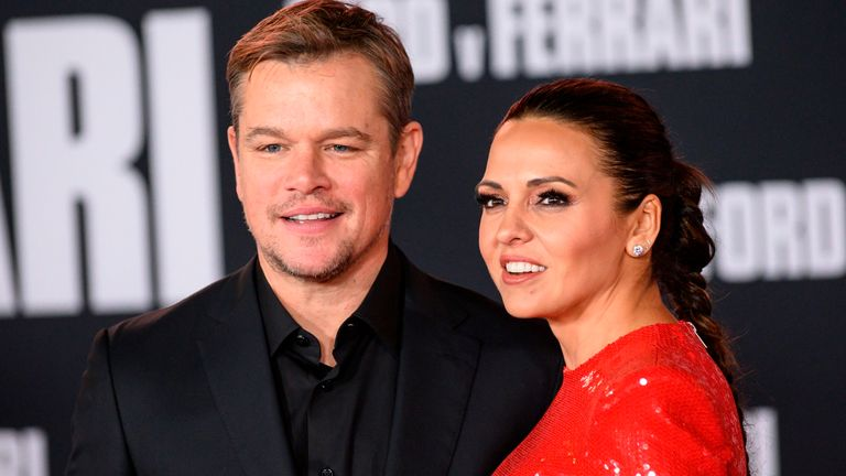 Matt Damon and wife Luciana Barroso have been residing in south Dublin during the lockdown