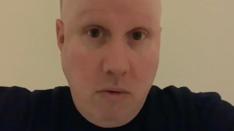 The video has been watched three million times. Pic: @realmattlucas