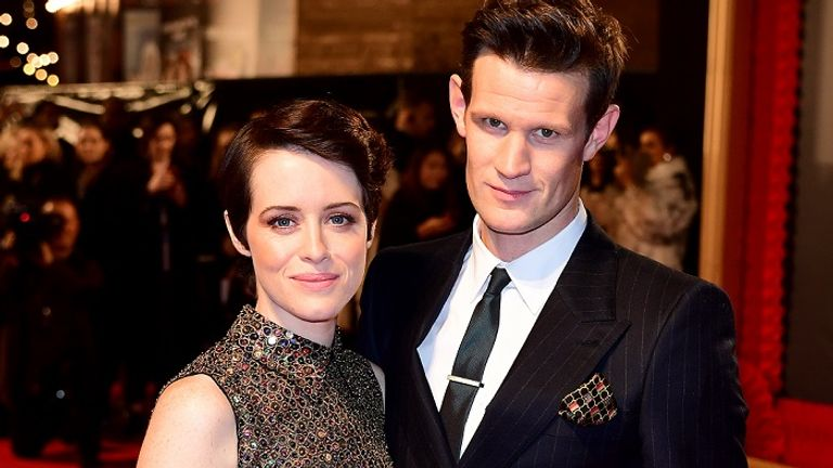 Matt Smith and Claire Foy will take to the stage at an empty Old Vic in June. File pic