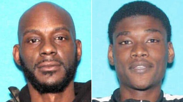 Larry Teague and Ramonyea Bishop. Pic: Genessee County Prosecutors Office