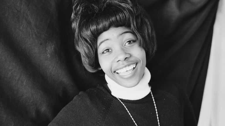 Jamaican singer and songwriter Millie Small, 15th April 1964. (Photo by Terry Fincher/Daily Express/Hulton Archive/Getty Images)
