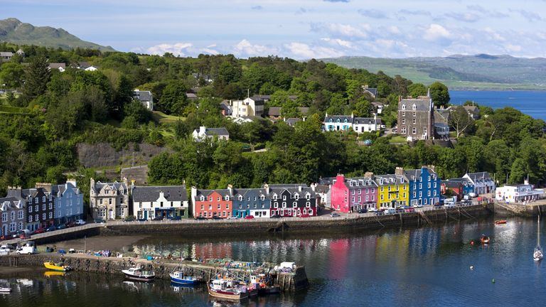 The Isle of Mull shut its borders to non-permanent residents ahead of the Scottish lockdown to protect its small community