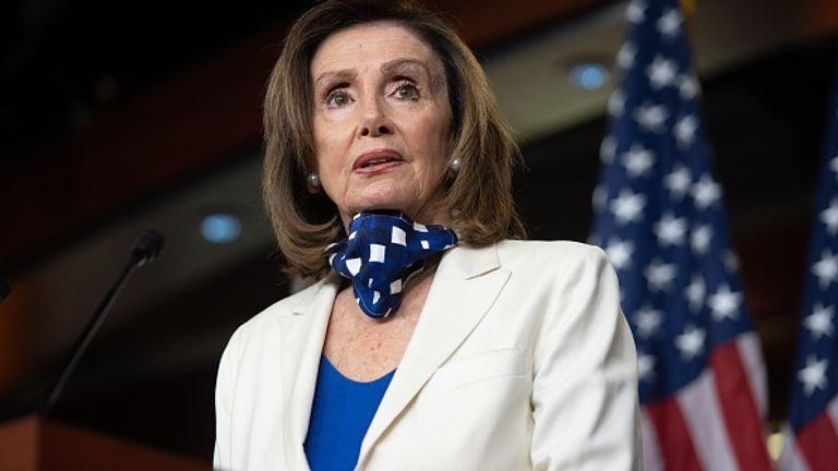 US Speaker of the House Nancy Pelos