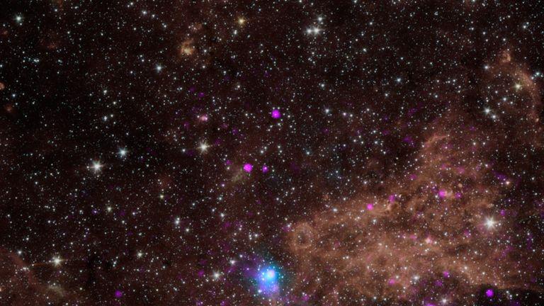 NASA image of stars