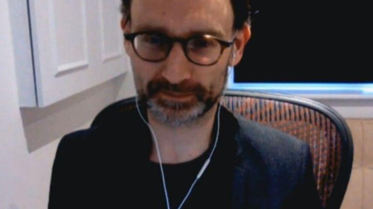 Professor Neil Ferguson during a recent coronavirus briefing