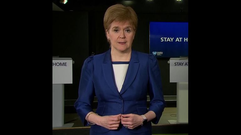 Nicola Sturgeon defies UK government's lockdown rules for a more cautious approach