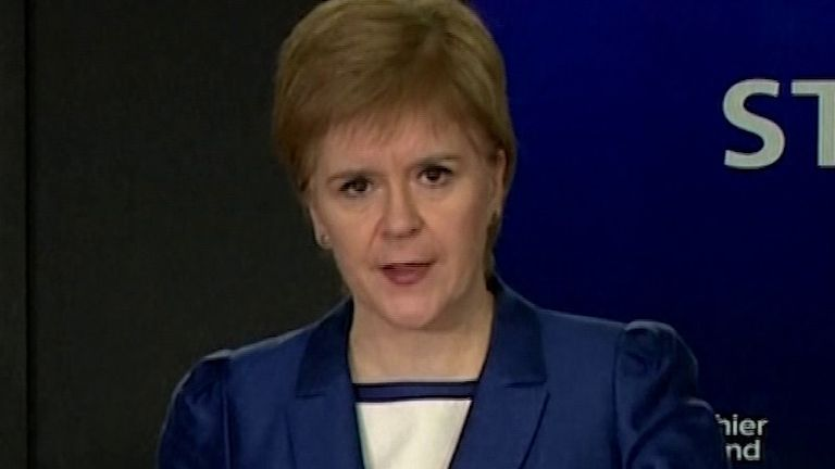 Nicola Sturgeon asks Scotland not to be distracted by the rest of the UK's coronavirus measures