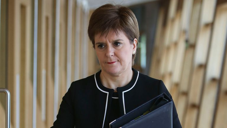 Nicola Sturgeon will set out the road map today